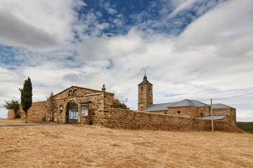 Santuario Nuestra Señora de Castrotierra. Castrotierra de la Valduerna, León.