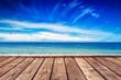 Boardwalk Pier and Open Seascape