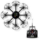Multirotor helicopter with camera poster