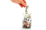 IRA savings poster