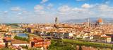 Florence panorama Ponte Vecchio, Palazzo Vecchio, Cathedral Santa Maria Del Fiore from Piazzale Michelangelo (Tuscany, Italy) - 88491573