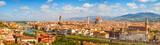 Florence panorama Ponte Vecchio, Palazzo Vecchio, Cathedral Santa Maria Del Fiore and Basilica di Santa Croce from Piazzale Michelangelo (Tuscany, Italy) - 88491798