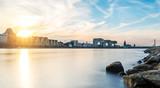 Köln zum Sonnenuntergang