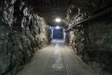 Fototapeta Fototapeta kamienie - Underground mine tunnel © malajscy