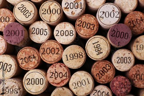 Fototapeta Wine corks close up