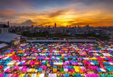 Train Night Market Ratchada - Bangkok