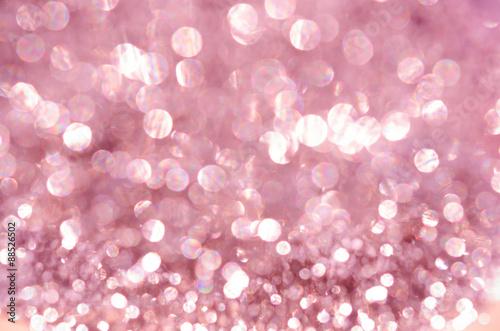 Pink birthday blurred.