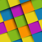 colorful background from squares