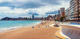 Beach in Benidrom, Costa Blanca, Spain in spring - 88612512