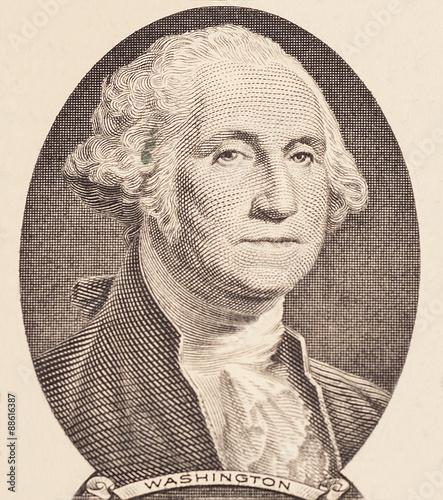 Portrait of first U.S. president George Washington © yurchello108