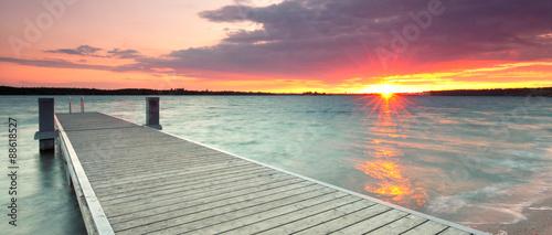 Lato nad jeziorem