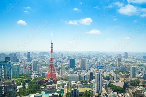 Foto op Aluminium Blauw 東京風景