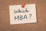 Which MBA poster