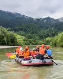Familien-Rafting-Tour auf der Iller poster