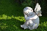 Little angel figurine sleeping