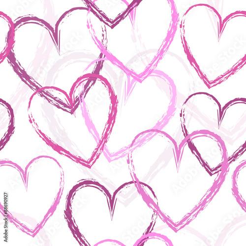 GamesAgeddon - kachelbares Design mit Muster Herzen in pink und Rosa ...