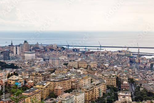 Keuken foto achterwand Antwerpen Port of Genoa in Italy