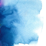 abstract blue watercolor background/ divorce/ vector illustration