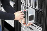 Blade server installation in large datacenter