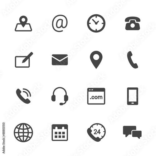 Ikony kontaktów
