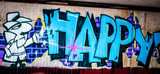 Graffiti: Szczęśliwy