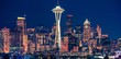 Seattle Night Panoramic