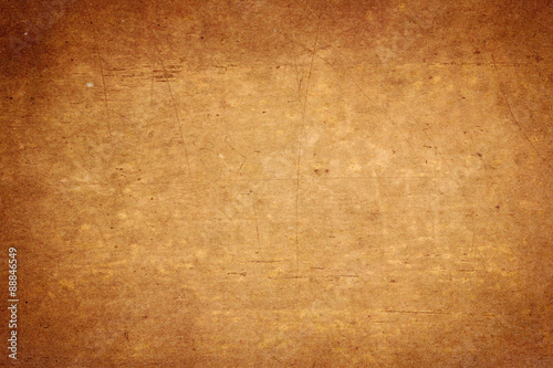 Foto Murales old brown paper texture background