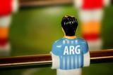 Argentina National Jersey on Vintage Foosball, Table Soccer Game