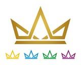 Fototapety Gold Crown Logo Template v.2