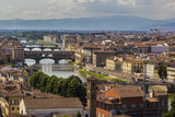 Panoramic view to Ponte Vecchio, Florence