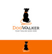 logo design for dog walking, training or dog related business