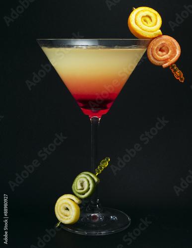 Fototapeta Cocktails Collection - Tropical Martini