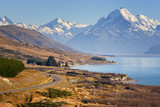 Fototapety Road to Mount Cook, New Zealand
