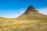 Mount Kirkjufell on the Snaefellsnes peninsula in Iceland poster