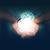 mani, orologio, ora, tempo, velocità