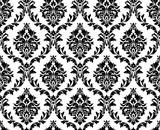 Vector seamless damask pattern - 89044193