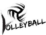 Volleyball Grunge Streaks