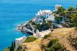 Obrazy na płótnie, fototapety, zdjęcia, fotoobrazy drukowane : Hotels on the sea side on Ios island, Greece