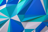 abstract color background low poly