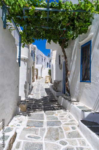 Street in Sifnos island, Cyclades, Greece © kokixx