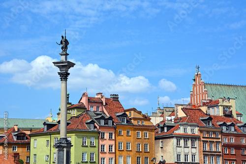 fototapeta na ścianę Warschau, Altstadt