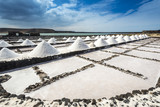 Salt works of Janubio, Lanzarote, Canary Islands