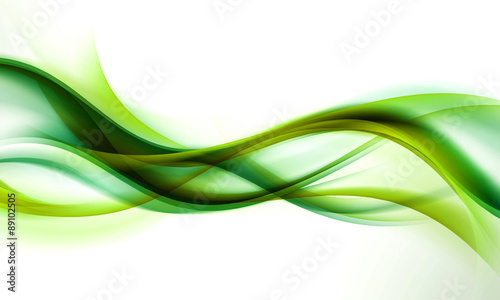Foto op Aluminium Abstract wave abstract green wave background