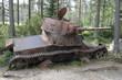 Постер, плакат: Финляндия Зимняя война старая военная техника