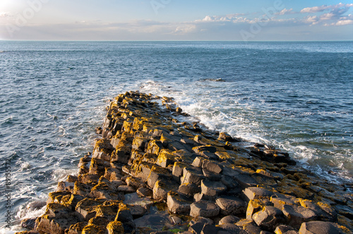 Keuken foto achterwand Noord Europa Giants Causeway in Northern Ireland