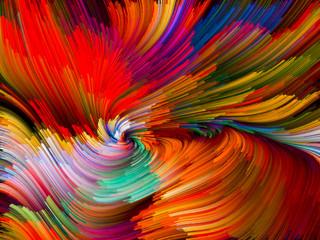 fototapeta kolorowe nitki