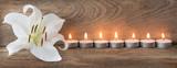 Fototapety Dekoration - Kerzen
