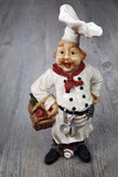 Vintage figurine: French chef