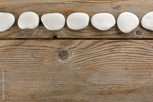 Pannello pietre bianche