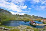Mountain lake, high altitude,